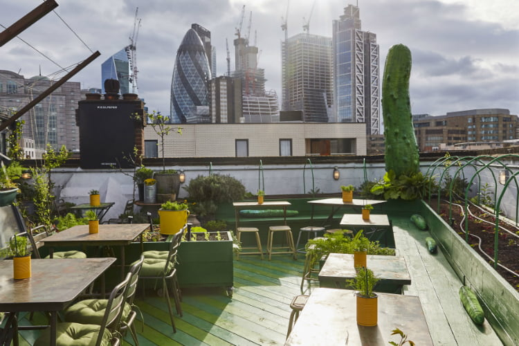 Piculpeper - rooftop bars in London