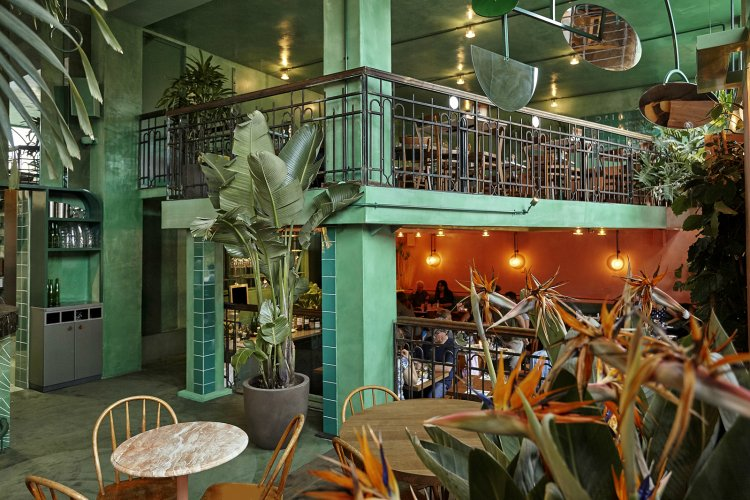 Bar Botanique - coolest cafes in Amsterdam