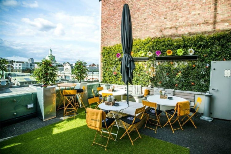 Bird of Smithfield - rooftop bars in London