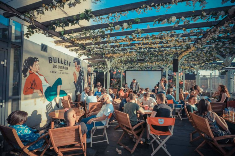 Fest Camden - rooftop bars in London