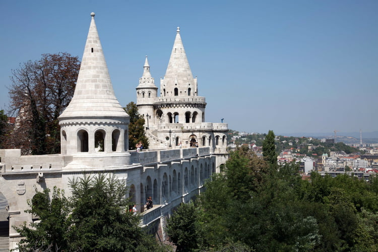 Fishermans Bastion - 48 hours in Budapest