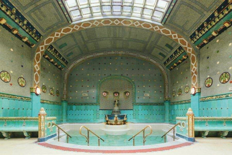 Gellert Baths - 48 hours in Budapest