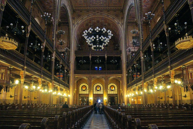 Great Synagogue - 48 hours in Budapest