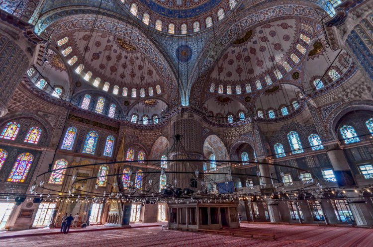 Blue Mosque - 48 hours in Istanbul