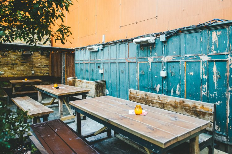 Lock Tavern Camden - rooftop bars in London