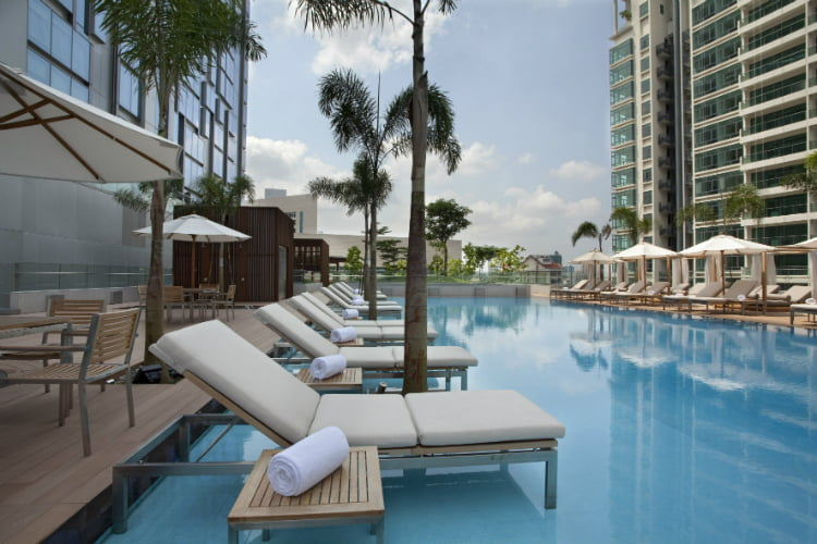 Oasia Hotel - best hotels in Singapore