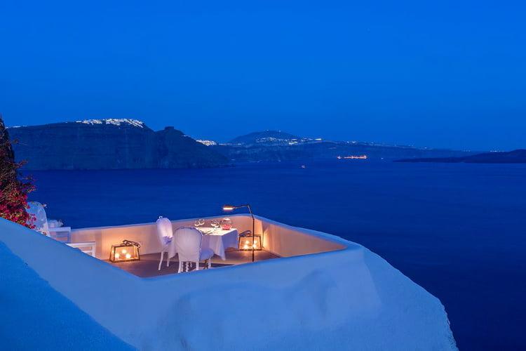 Panorama Balcony Experience - best restaurants in Santorini