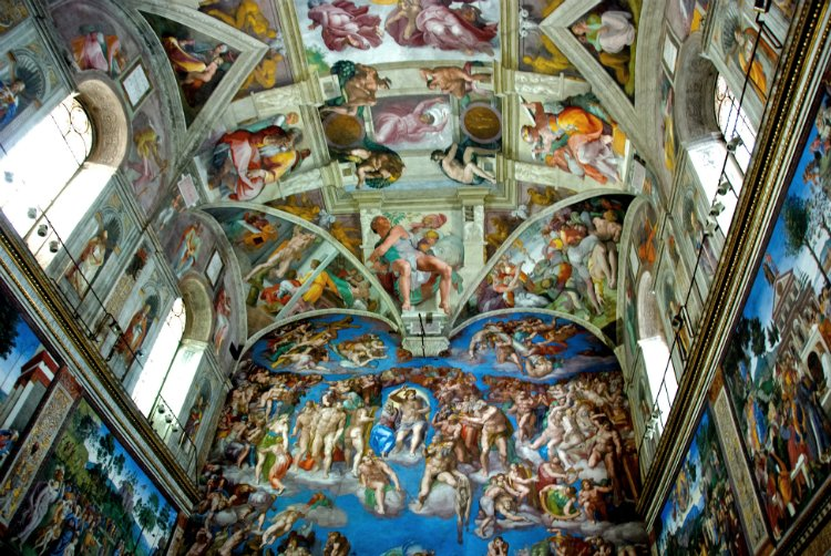 Sistine Chapel - 48 hours in Rome