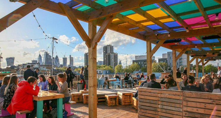 Skylight - rooftop bars in London
