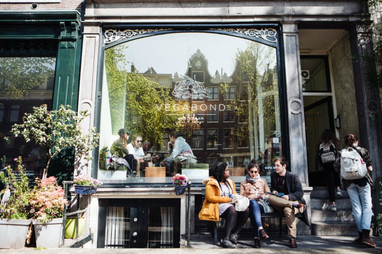 Vegabond - coolest cafes in Amsterdam