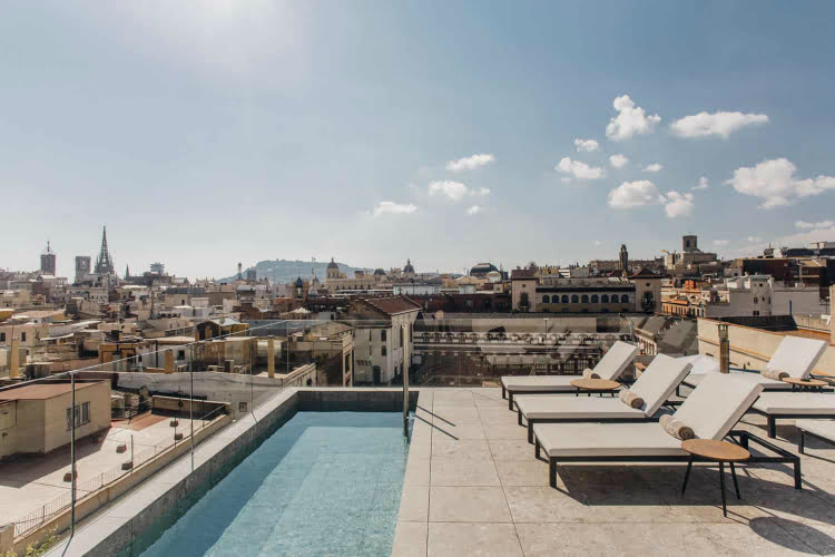 Yurbban Passage - best hotels in Barcelona