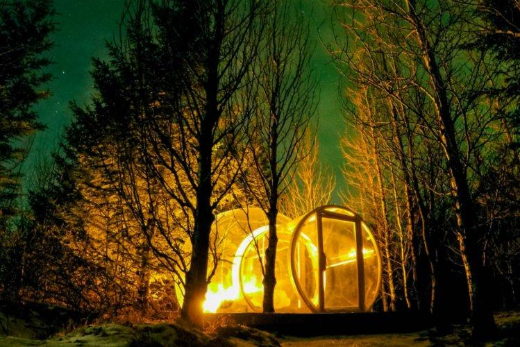 Bubble Igloo Hotel Iceland - 5 Million Stars Hotel