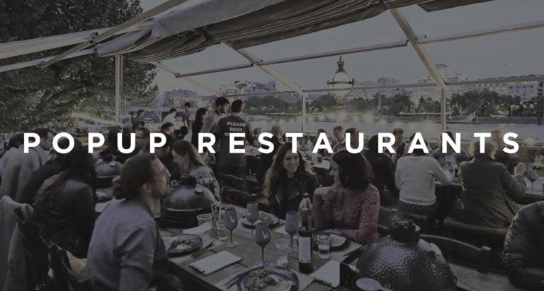 Best pop up restaurants london