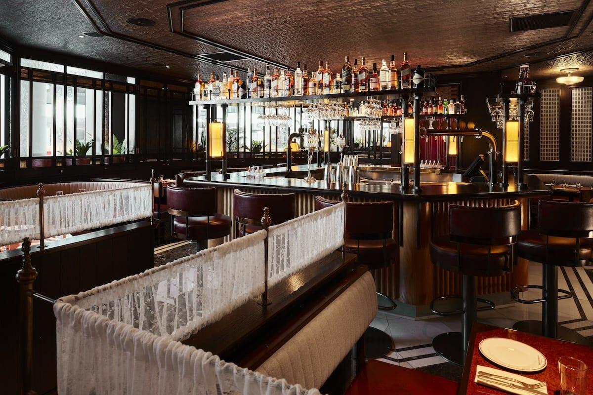 Brigadiers restaurant London