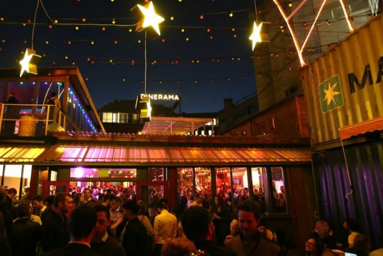 Dinerama - food market London