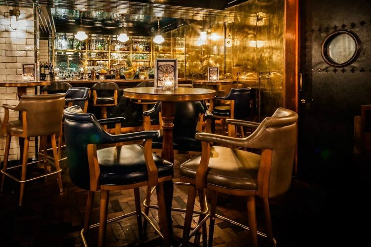 Hawksmoor Spitalfields Bar - best bars in Shoreditch