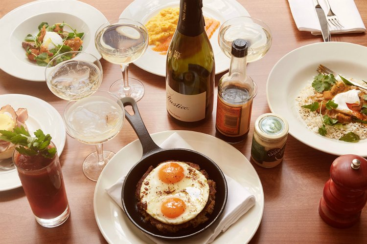 Hixter Bankside - bottomless brunch London