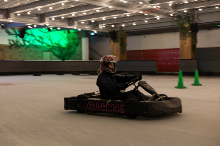 ice karting - things to do in a London heatwave