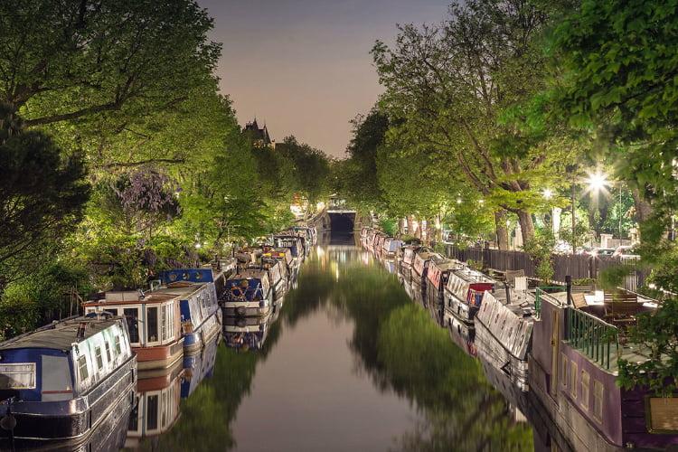 Kayak Canals - 100 London Date Ideas