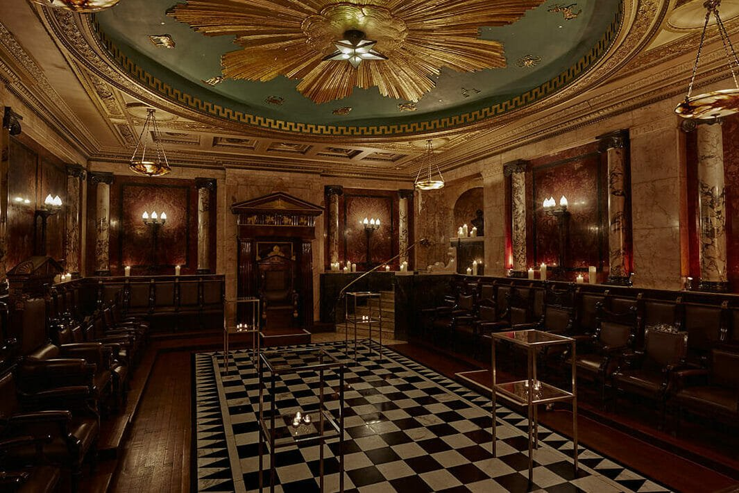 masonic temple unusual things to do shoreditch