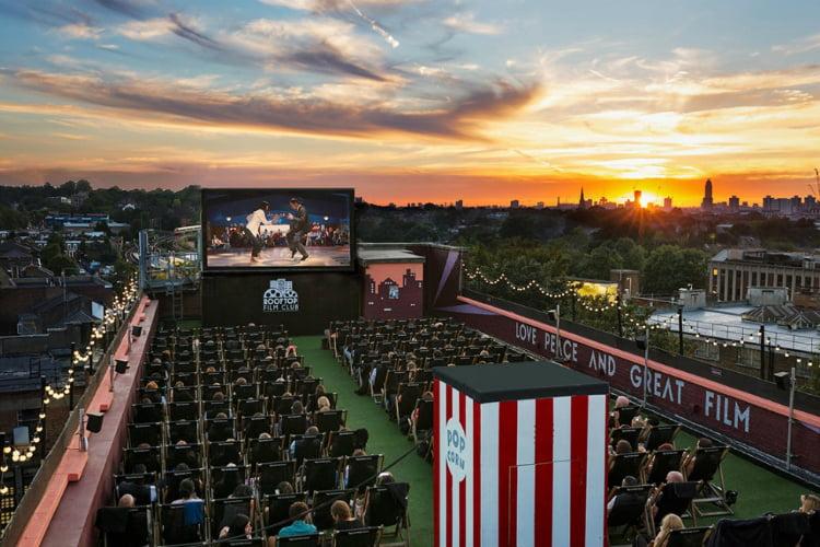 Rooftop Film Club - 100 London Date Ideas