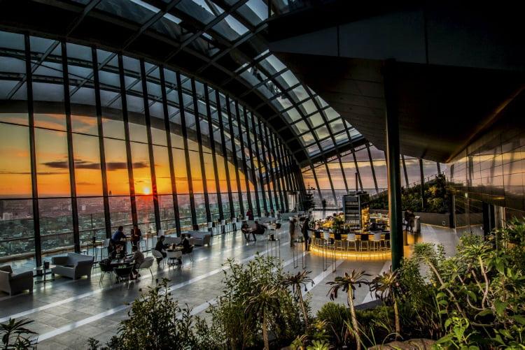 Sky Garden - 100 London Date Ideas