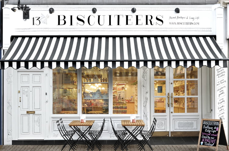 Biscuiteers - afternoon tea London
