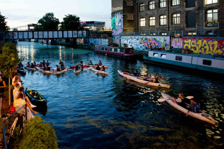 Kayak - things to do in a London heatwave