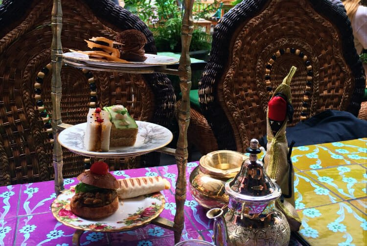 Momo Afternoon Tea London