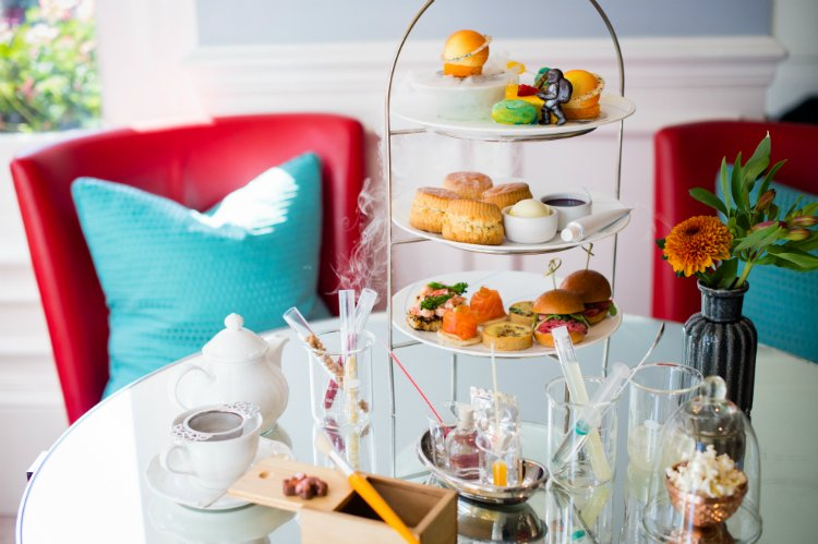 Ampersand Hotel - science afternoon tea London