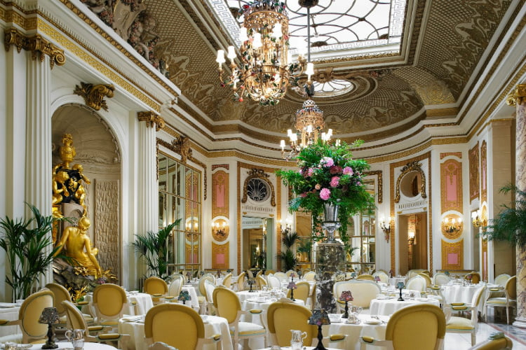 The Ritz - afternoon tea in London