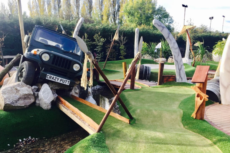 Crazy Putt - crazy golf London