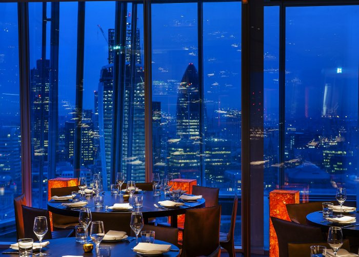 Oblix - Shard restaurants