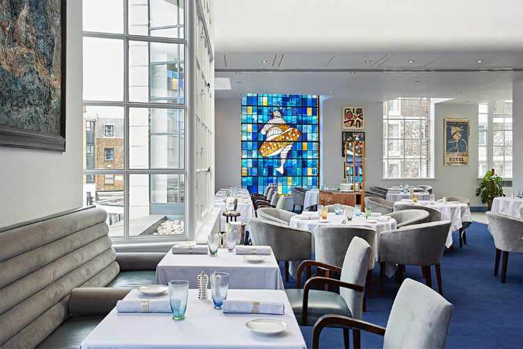 Claude Bosi Bibendum - Michelin star restaurants London
