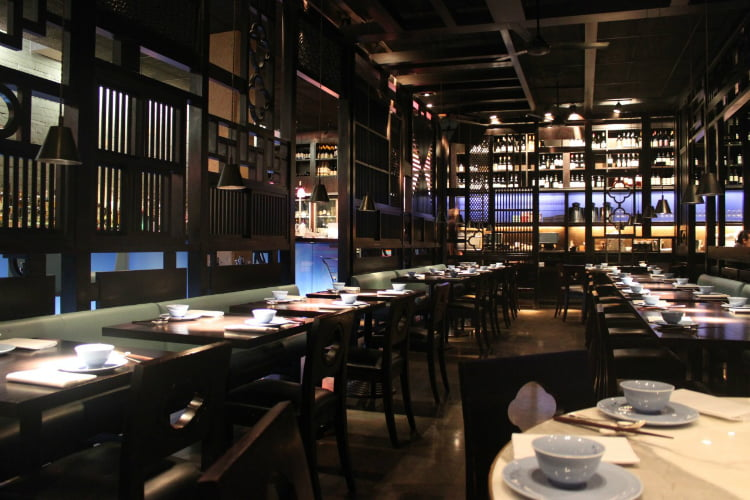 Hakkasan Mayfair - Michelin star restaurants London