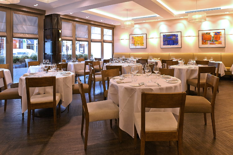 La Trompette - Michelin star restaurants London
