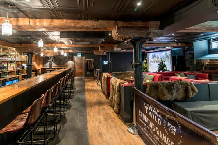Mac & Wild Whisky Bar and Shooting Range - London activity bars