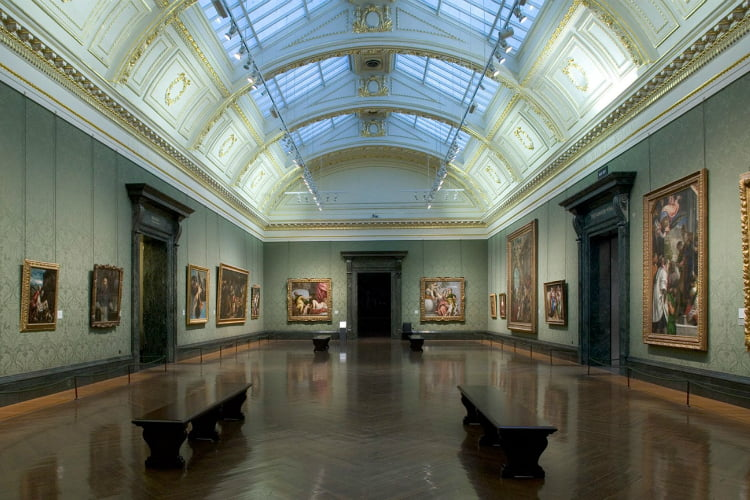 National Gallery - art galleries in London