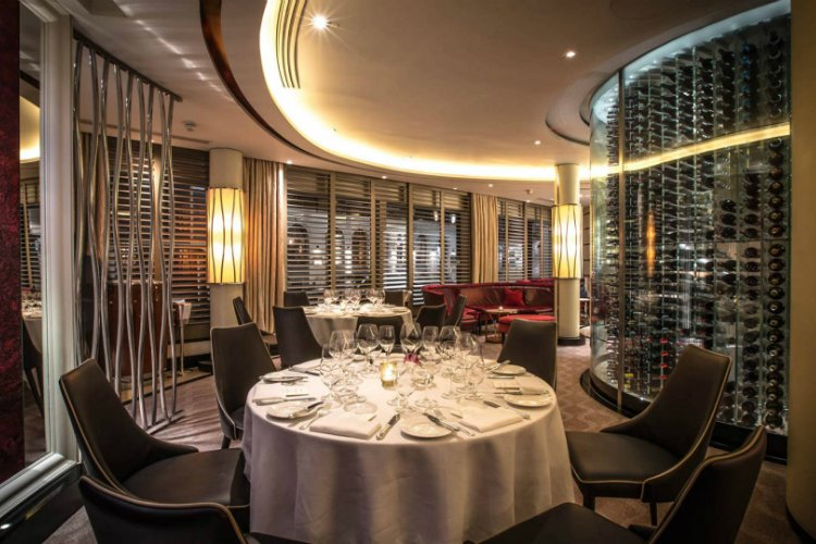 Petrus Michelin star restaurants London