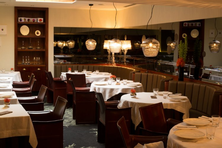 Pied a Terre - Michelin star restaurants London