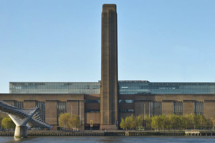 Tate Modern - art galleries in London
