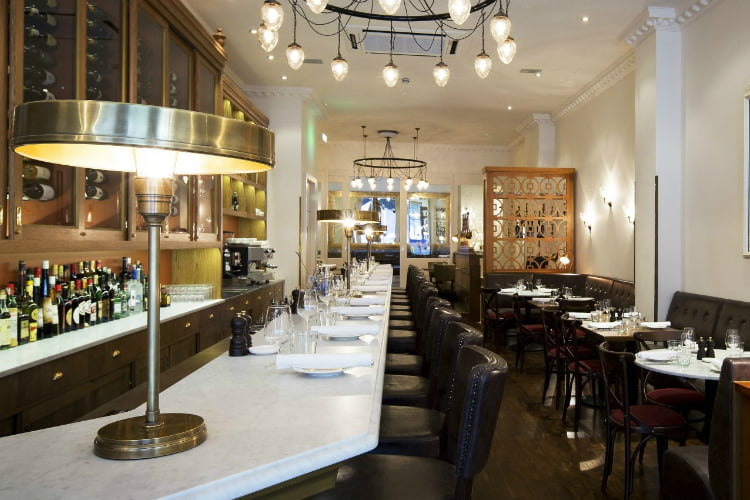 Cafe Murano - best restaurants in Covent Garden