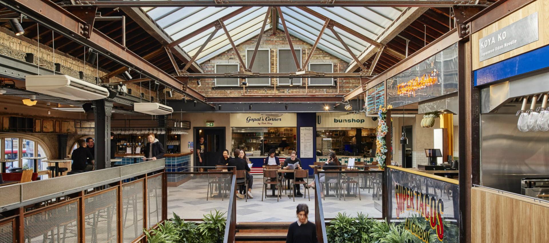 Market Hall Victoria Three Storeyed Street Food Hall