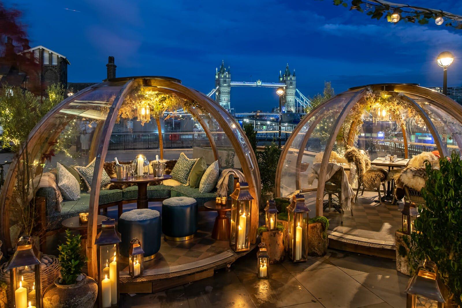 romantic dates london