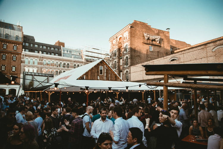 Flat Iron Square Oktoberfest - things to do in London this month