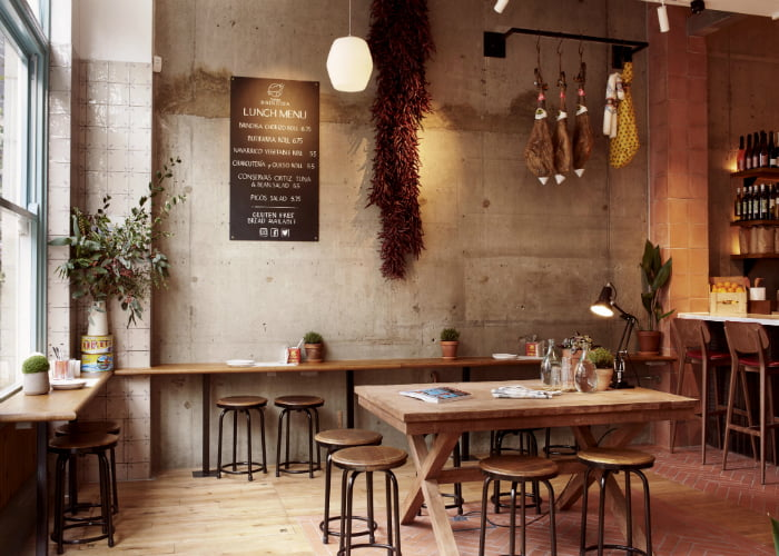 Tapas Brindisa - best vegan restaurants London