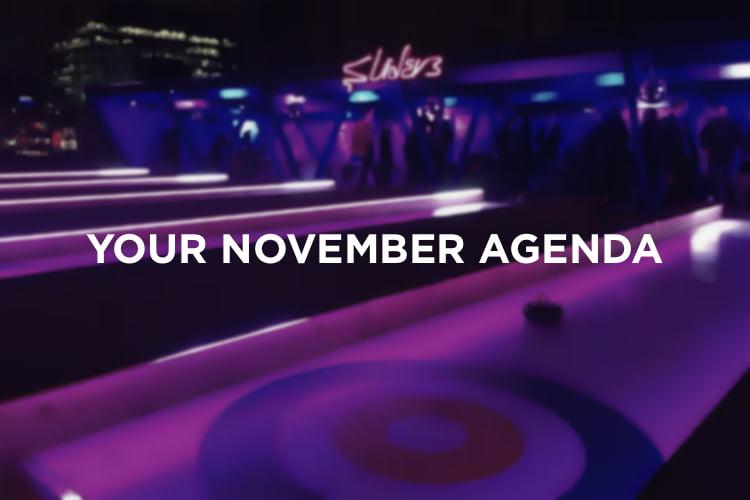 Your November Agenda - Christmas In London 2018