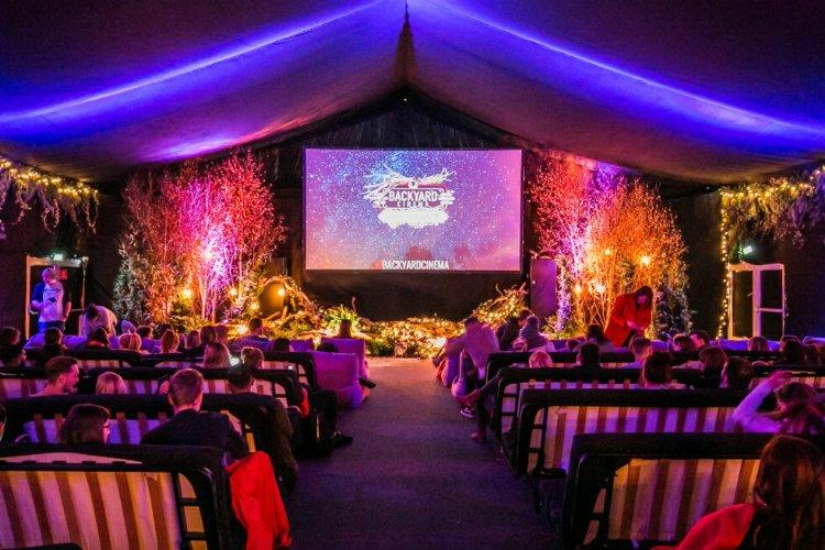 Winter pop ups london - Backyard Cinema Christmas Labyrinth