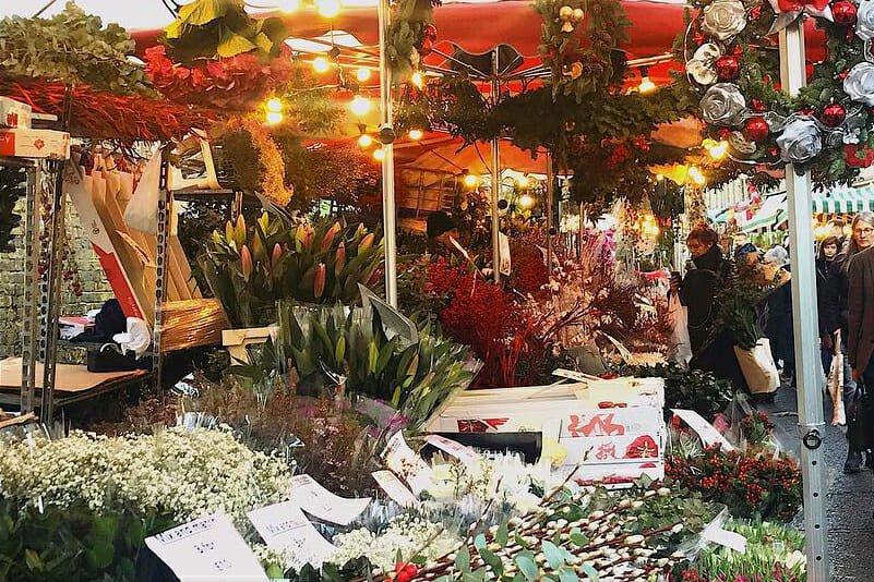 Columbia Road Market Christmas Wednesdays