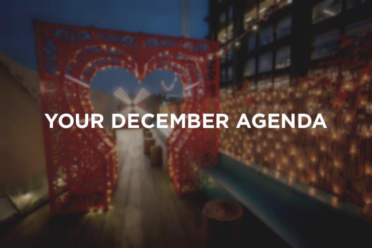 December Agenda - Christmas in London 2018